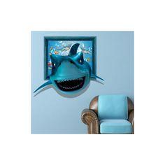 Art Mural - Stickers Muraux - 3D Sticker mural - Art mural Papier 3D requin revêtements muraux PVC lavables sticker mural Sticker Mural, Art Mural, Stickers, Boy Room, 3d Paper, Shark, Wall Cladding, Decals