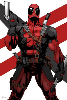 Deadpool, Merc With A Mouth by hijackupgrade on DeviantArt (Marvel) Marvel Comic Character, Comic Book Characters, Marvel Characters, Comic Books Art, Comic Art, Marvel Dc Comics, Marvel Vs, Marvel Heroes, Deadpool Art