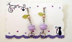 Macaron Earrings  Kawaii Deco by HoriSweetsandFaeries on Etsy, ¥1200