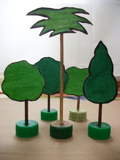 Caderno de Ciências e Biologia : Dezembro 2012 Kids Crafts, Craft Activities For Kids, Crafts To Do, Arts And Crafts, Paper Crafts, School Projects, Projects To Try, Rainforest Project, Diorama Kids
