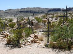 Terlingua Cemetery and Ghost Town