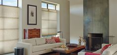 Alustra® Duette® Architella® honeycomb shades withPowerView™ Motorization