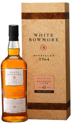 White Bowmore   Bowmore Islay Single Malt Whisky available from Whisky Please.