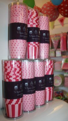cupcake wrappers packaging