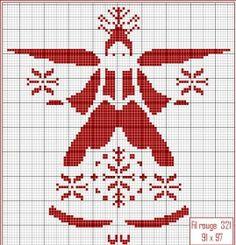 Des grilles de broderie gratuites sur le thème de Noël - Broderie - Pure Loisirs