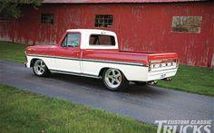 1970 Ford F100 Full size Ranger Pickup Truck #ford