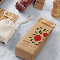 Jam Packaging, Bakery Packaging, Coffee Packaging, Brand Packaging, Packaging Design, Branding Design, Ci Design, Food Design, Paper Bag Design