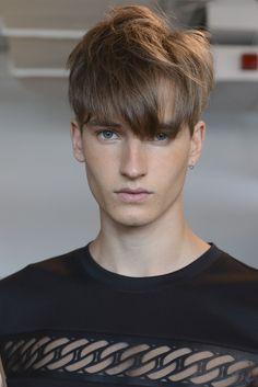 Frederik Ruegger| Backstage at Kye Spring/Summer 2015 NYFW