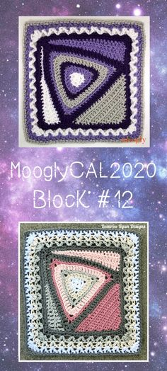 MooglyCAL2020 Block #12 is a wonderful, unique square, by Elena Hunt of Beatrice Ryan Designs! Part of the free year-long crochet along on Moogly!  #mooglycal2020 #redheartyarns #withlove #freecrochetalong #freecrochetpatterns #mooglyblog #yarnspirations