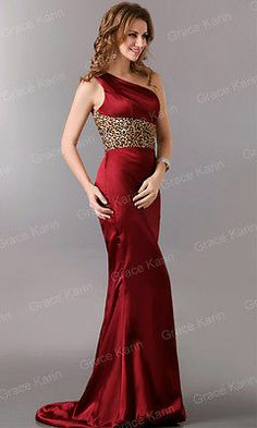 Maxi Sexy Luxury Formal Party Gowns Evening Dress Bridesmaid Cocktail Prom  Satin b44aa862b2b