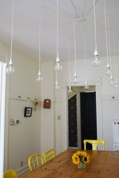 Elsies dream (DIY) light fixture - A BEAUTIFUL MESS