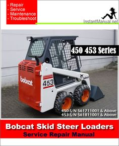 57 best bobcat skid steer loader service manual pdf images on rh pinterest com Bobcat Parts Bobcat 763 Service Manual