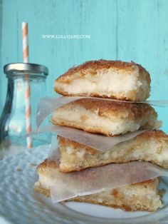 cream cheese bars - Lolly Jane