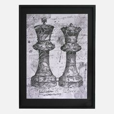 Laced King And Queen Print, £99, now featured on Fab.