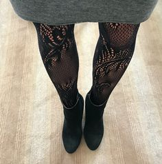 The Josie Girl is loving these Natori Feathers lace net tights. Perfect for the holiday season, shop now!