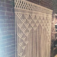 """""""One more of this backdrop I made for @something_borrowed_pdx. Love it against the brick⏬⏬"""""""