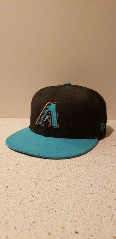 78c7189e0e6b6 Arizona diamondbacks new era hat 7 5 8  fashion  clothing  shoes