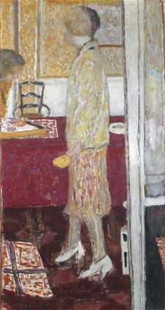 Pierre Bonnard, Marthe au Cannet, 1933. Lyon, musée des Beaux-Arts. Más