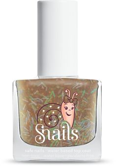 Gold Rain: Dancing in the rain has never been so fun and luxurious. This new gold top coat will not only make your daughters nails seem posh, but will also add a touch of fun and imagination!