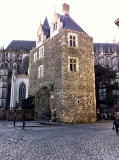 Cathédrale de Nantes Nantes France, France Europe, Brittany, Talents, Mansions, Monuments, House Styles, Beautiful, Street