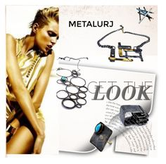 """""""Cutting Edge Jewels"""" by fl4u ❤ liked on Polyvore featuring Styli-Style, women's clothing, women, female, woman, misses, juniors, jewels and metalurj"""