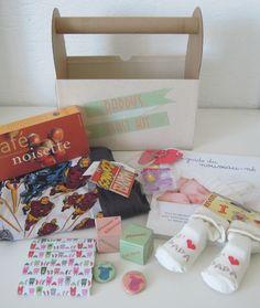La boîte à papas (cadeau de naissance pour les papas)