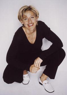 Ellen DeGeneres, 1997, photographer: Firooz Zahedi National Portrait Gallery, Celebrity Portraits, Ellen Degeneres, Celebs, Celebrities, Women Empowerment, Normcore, Fashion, Moda