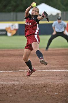 My idol :) Jennie Finch! Softball Players, Fastpitch Softball, Girls Softball, Jennie Finch, Throw Like A Girl, Team Coaching, Usa Olympics, I Love Girls, Baseball