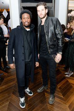 Shameik Moore and Ben Barnes