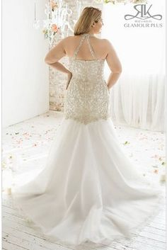 Cedar, Roz La Kelin Glamour Plus Collection | 31 Jaw-Dropping Plus-Size Wedding Dresses