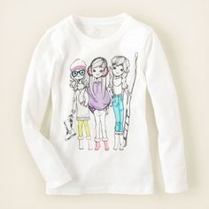Graphic+Tees+for+Teen+Girls   girl winter girls graphic tee Childrens Clothing Kids Clothes