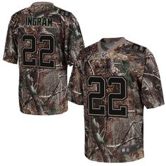 Mens Elite Mark Ingram Jersey Nike New Orleans Saints #22 Camo Realtree NFL Jerseys
