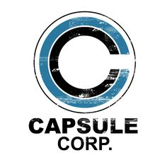 Camiseta Dragon Ball. Capsule Corporation