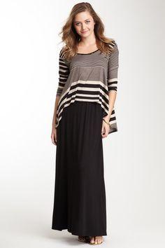 Flare Maxi Skirt by Loveappella on @HauteLook