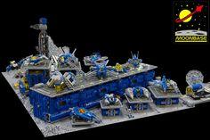Moonbase V - StarPort | Perched in Mare Crisium, Moonbase V … | Flickr