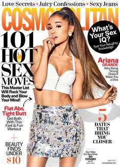 Ariana Grande for Cosmopolitan Magazine