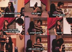 Alphabet Improv - Victorious I think it can be helpful to writers for fun, and inspiration! Victorious Nickelodeon, Icarly And Victorious, Victorious Quotes, Victorious Jade And Beck, Tori And Beck, Movie Quotes, Funny Quotes, Victory Quotes, Zack E Cody