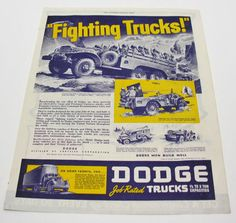 Shop for on Etsy, the place to express your creativity through the buying and selling of handmade and vintage goods. Dodge Trucks, Effort, Vintage Items, War, Personalized Items, The Originals, Creative, Handmade, Etsy