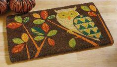 owl kitchen rug