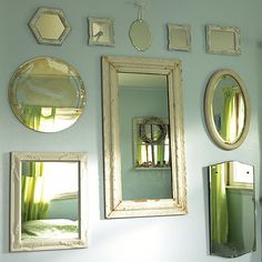 Anyone Can Decorate: Vintage Mirror Collecting - Flea Market Finds
