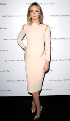 Emily Blunt in Emilio Pucci - 2013 National Board of Review Awards