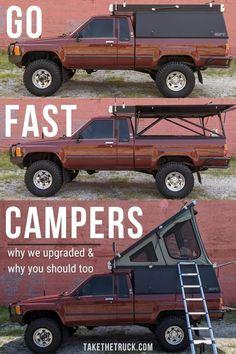Truck Cap Camper, Small Truck Camper, Truck Bed Trailer, Truck Bed Tent, Slide In Truck Campers, Truck Camper Shells, Truck Caps, Pickup Camper, Pickup Trucks