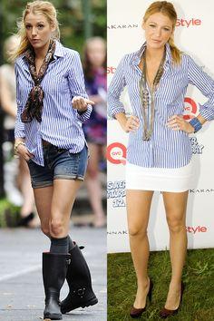 28 Times Blake Lively Dressed Like Serena van der Woodsen in Real Life  - HarpersBAZAAR.com