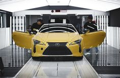 2018 Lexus LC Coupe Production Ramps Up for Europe  http://www.motortrend.com/news/2018-lexus-lc-coupe-production-ramps-up-for-europe/