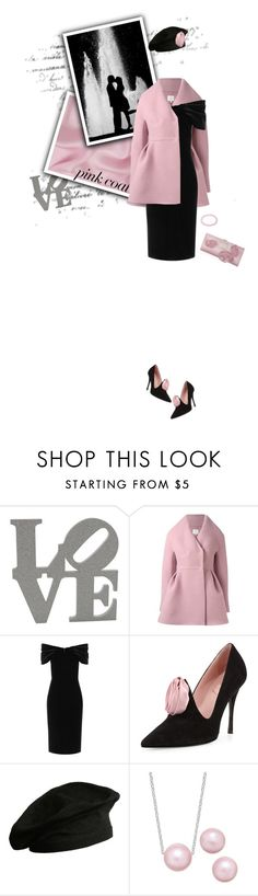 """""""Hey, Girl: Pretty Pink Coats"""" by leslee-dawn ❤ liked on Polyvore featuring Delpozo, Emilio De La Morena, Roger Vivier, agnès b. and Bling Jewelry"""