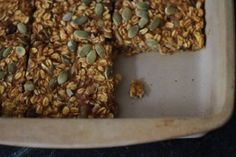 Oat bars, Pumpkins and Dairy free on Pinterest