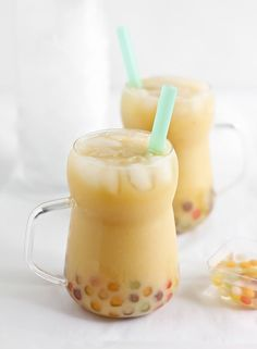 Mango Boba (Bubble) Tea | Sprinkle Bakes