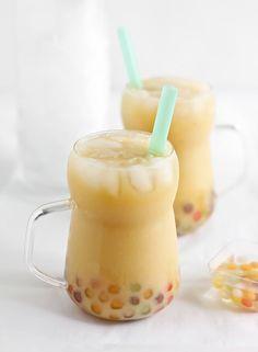 Mango Boba (Bubble) Tea | Sprinkle Bakes