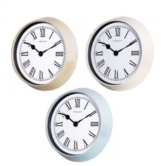 New Henley Wall Clock now available at competitive prices!!  http://www.dkwholesale.com/catalog/product/view/id/12893/s/henley-roman-porthole-wall-clock-white-blue-grey-hcw004/