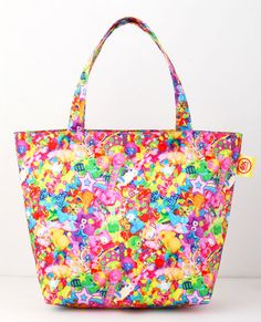 6%DOKIDOKI Colorful Rebellion Tote Bag.  I really want to get this.  It comes with a book!